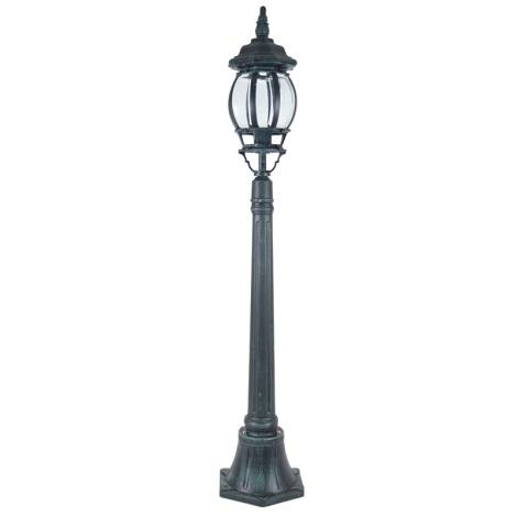 Stojacia lampa SANGHAI 1xE27/60W/230V - zelenočierna patina