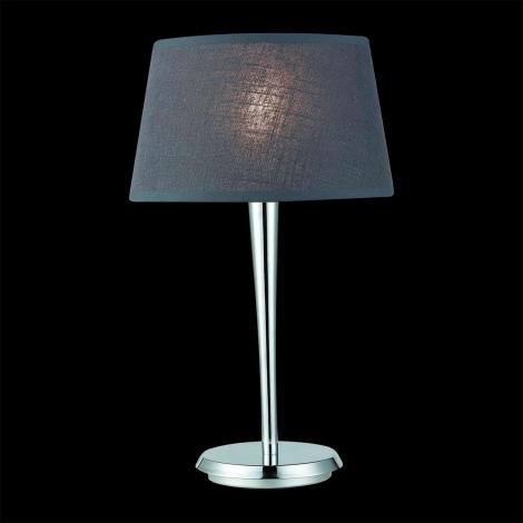 Stolná lampa COMBO šedá/chróm