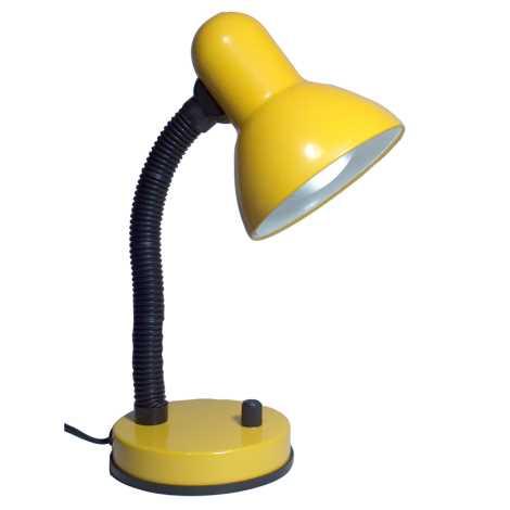 Stolná lampa KADET-S 1xE27/60W žltá