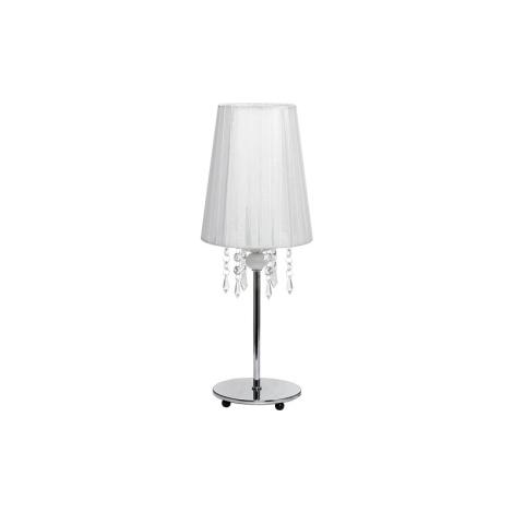 Stolná lampa MODENA WHITE I B - 1xE14/40W/230V