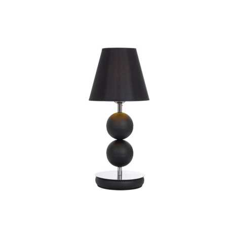 Stolná lampa NATHALIE BLACK I B - 1xE14/60W/230V