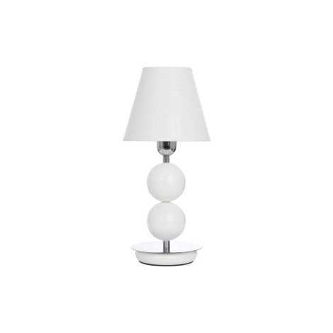 Stolná lampa NATHALIE WHITE I B - 1xE14/60W/230V