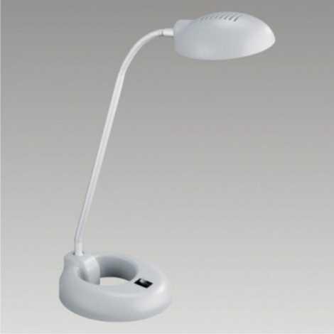Stolná lampa PEDRO 1xG9/40W šedá