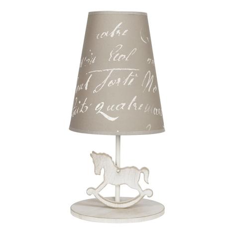 Stolná lampa PONY 1xE27/40W/230V