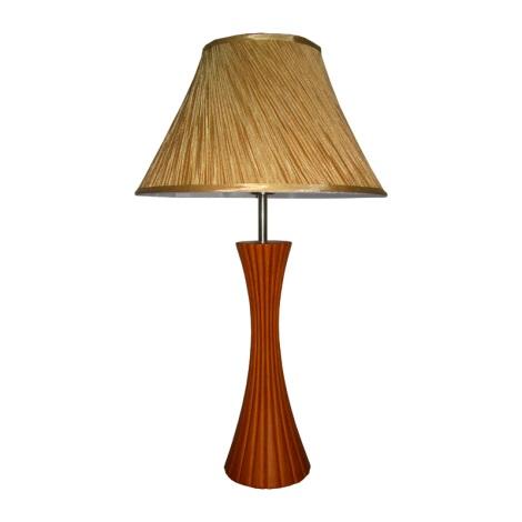 Stolná lampa SIGLO čerešňové drevo