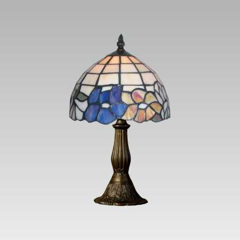 Stolná lampa TIFFANY 107 1xE14/40W