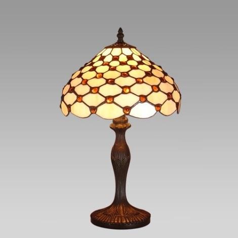 Stolná lampa TIFFANY 53 1xE27/60W
