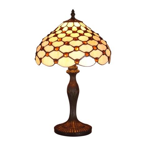 Stolná lampa TIFFANY 67 1xE14/40W
