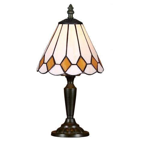 Stolná lampa TIFFANY 90 1xE14/40W