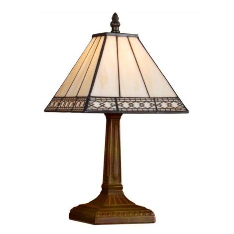 Stolná lampa TIFFANY 92 1xE14/40W