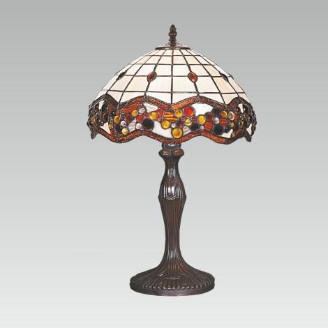 Stolná lampa TIFFANY 98 1xE27/60W