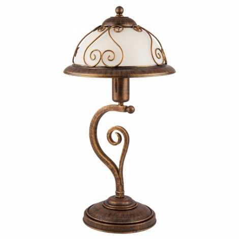 Stolná lampa VERDA VE/B 1xE27/60W bronz