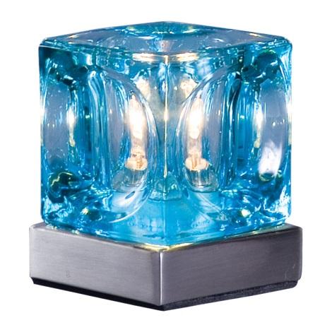 Stolné svietidlo DECORA modrá