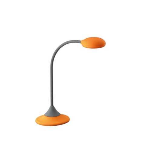 Stolné svietidlo WARREN 1xGX53/9W oranžová