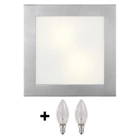 Stropné nástenné svietidlo ARI 2xE14/40W/230V