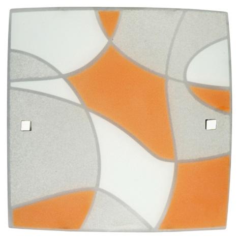 Stropné svietidlo ASPIS 3xE27 / 60W oranžová