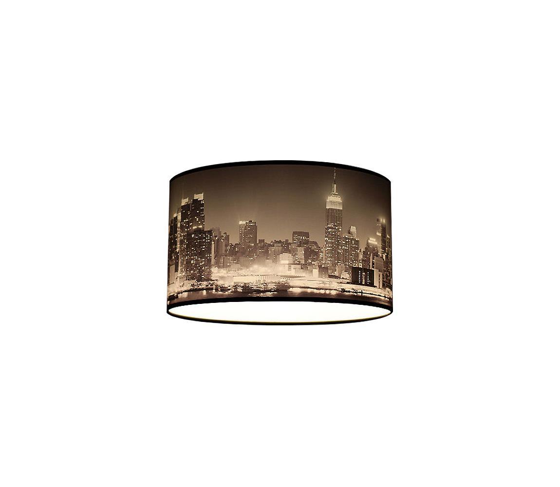Lampdar Stropné svietidlo CITY čiernobiele mrakodrapy 2xE27/60W/230V
