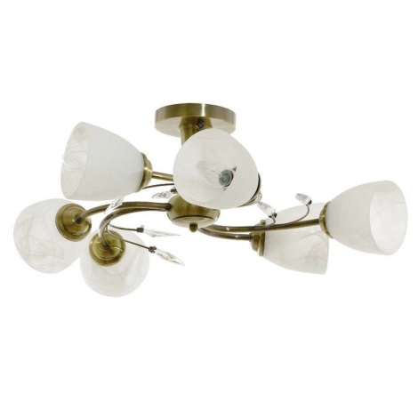 Stropné svietidlo LEARA 6xE14/40W/230V