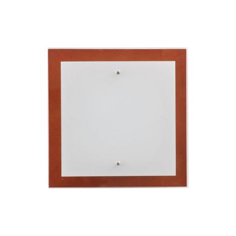 Stropné svietidlo OSAKA SQUARE cherry S - 2xE27/60W/230V