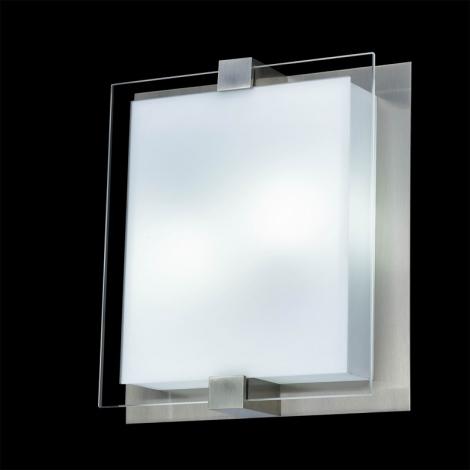 Stropné svietidlo SHARP 2xE27/18W/230V matný chróm