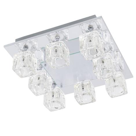 Stropné svietidlo TANGA 2 8xG4/20W + LED / 1,92 W