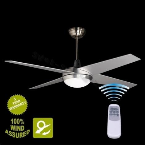 Stropný ventilátor s osvetlením YORK 2xE14/25W