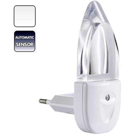 Svietidlo do zásuvky MINI-LIGHT (biele svetlo)