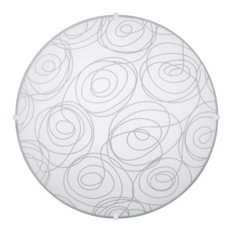 Svietidlo stropné LAURA 2xE27/60W biela