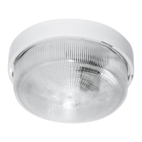 Technickej svietidlo RONDE 1xE27/100W biela