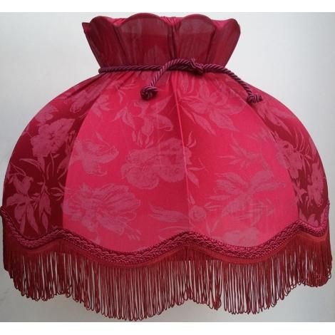 Tienidlo textilný HORTENZIA bordo - kvet