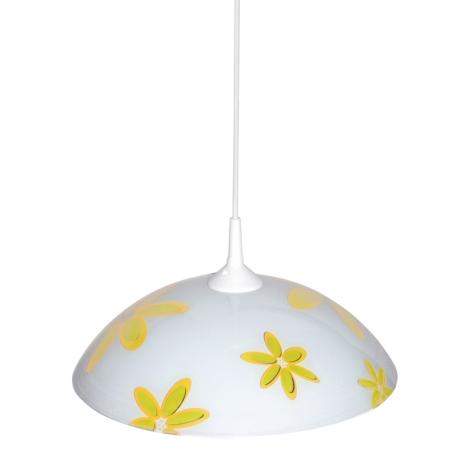 Top Light 1521/Kv/ZL - Luster 1xE27/60W/230V kvety žlté
