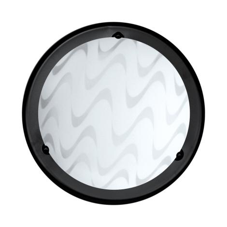 Top Light 5502/30/Č/SIN - Stropné svietidlo 1xE27/60W/230V