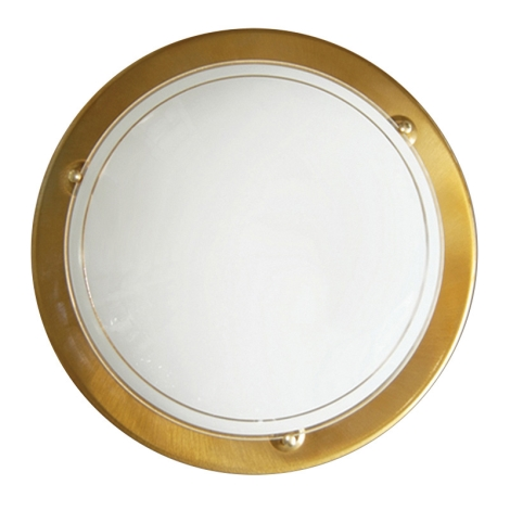 Top Light 5502/40/AN - Stropné svietidlo 1xE27/60W/230V zlatá