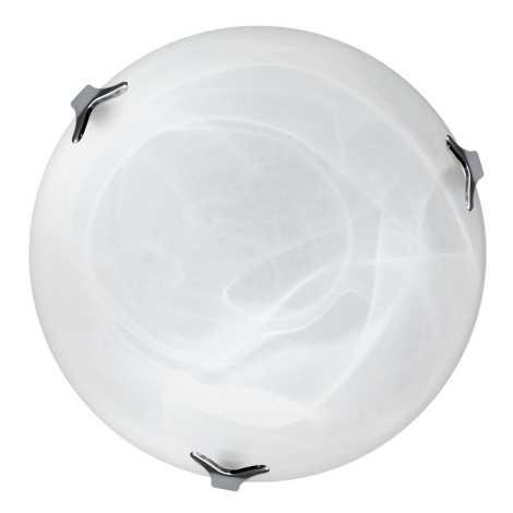 Top Light 5504/40/Cr/AL - Stropné svietidlo 2xE27/60W/230V