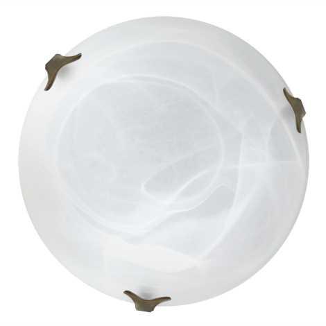 Top Light 5504/40/ZL/AL - Stropné svietidlo 2xE27/60W/230V