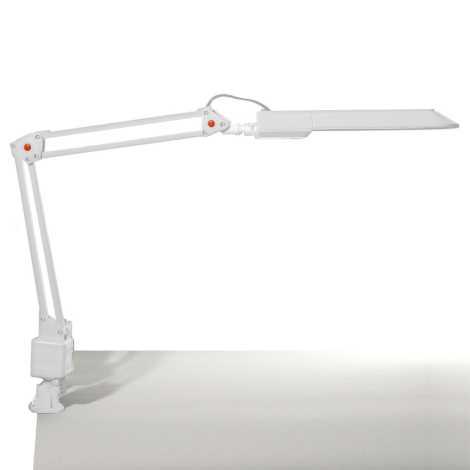 Top Light - Stolná lampa OFFICE 1xG23/11W/230V biela