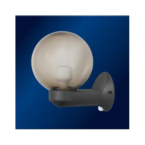 TOPLIGHT 502024 PIR - Senzorové vonkajšie nástenné svietidlo 1xE27/60W/230V