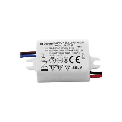 Trafo k LED pásku LED 1x3W