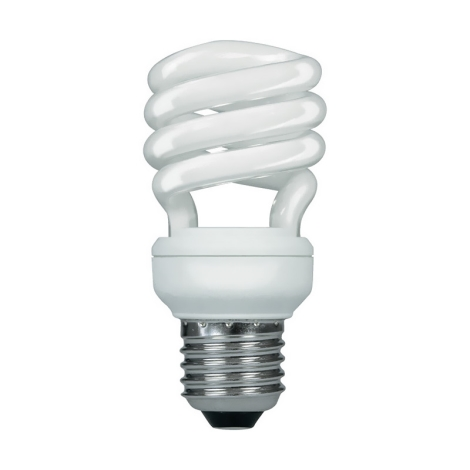 Úsporná žiarovka 1xE27/18W/230V NARVATRONIC NT Mini 840