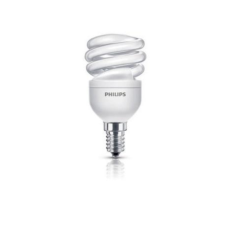 Úsporná žiarovka E14/8W/230V PHILIPS ECONOMY TWISTER