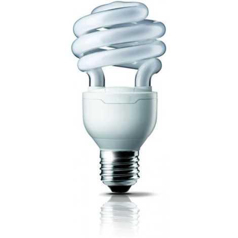Úsporná žiarovka E27/12W studená biela