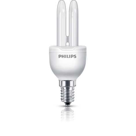 Úsporná žiarovka PHILIPS E14/5W/230V - ECONOMY