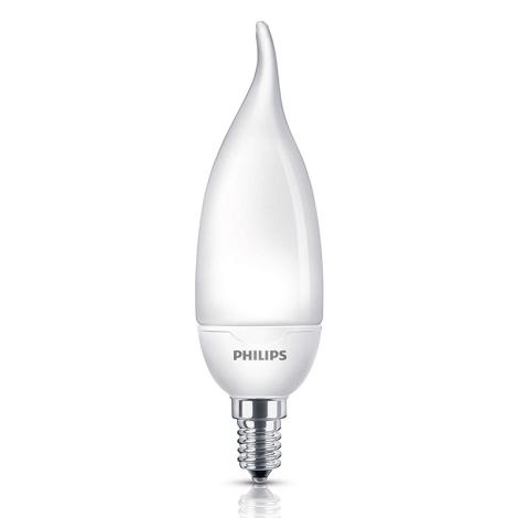 Úsporná žiarovka Philips E14/8W/230V - SOFTONE