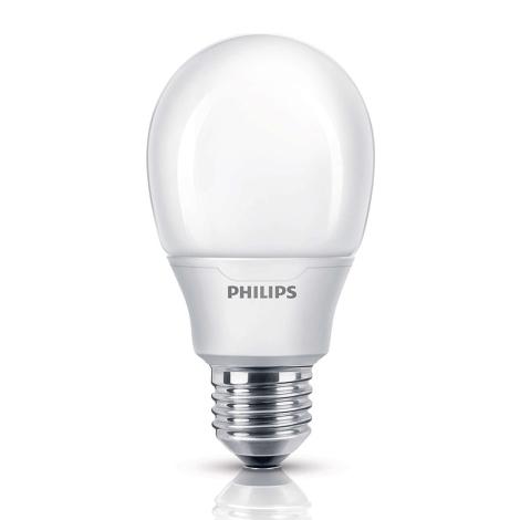 Úsporná žiarovka Philips E27/11W/230V - SOFTONE