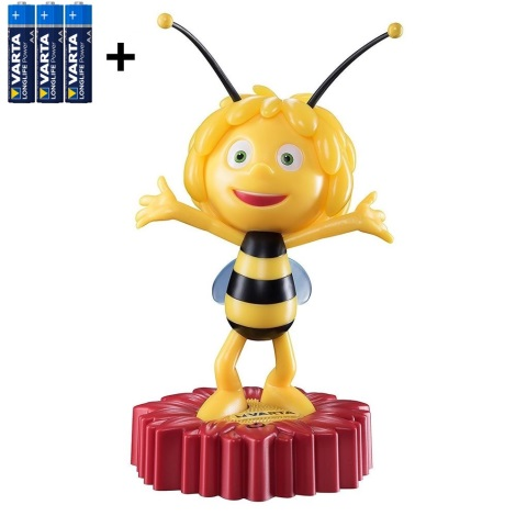 Varta 15635 - LED Detská nočná lampička MAYA THE BEE LED/3xAA