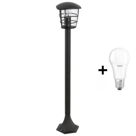 Vonkajšia lampa 1xE27/60W/230V