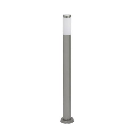 Vonkajšia lampa INOX 1xE27/60W