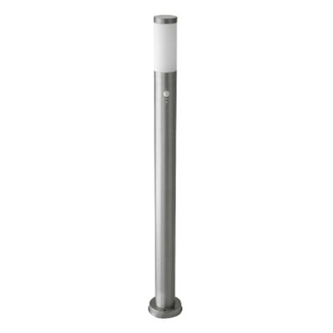Vonkajšia lampa INOX so senzorom