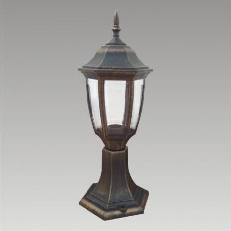 Vonkajšia lampa NICOSIA 1xE27/60W čierna