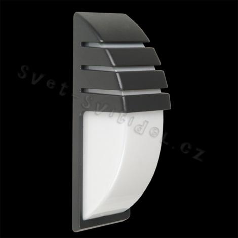 vonkajšie nástenné svietidlo CITY 1xE27/60W šedá